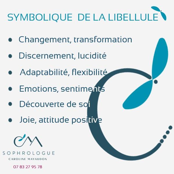 symbole libellule