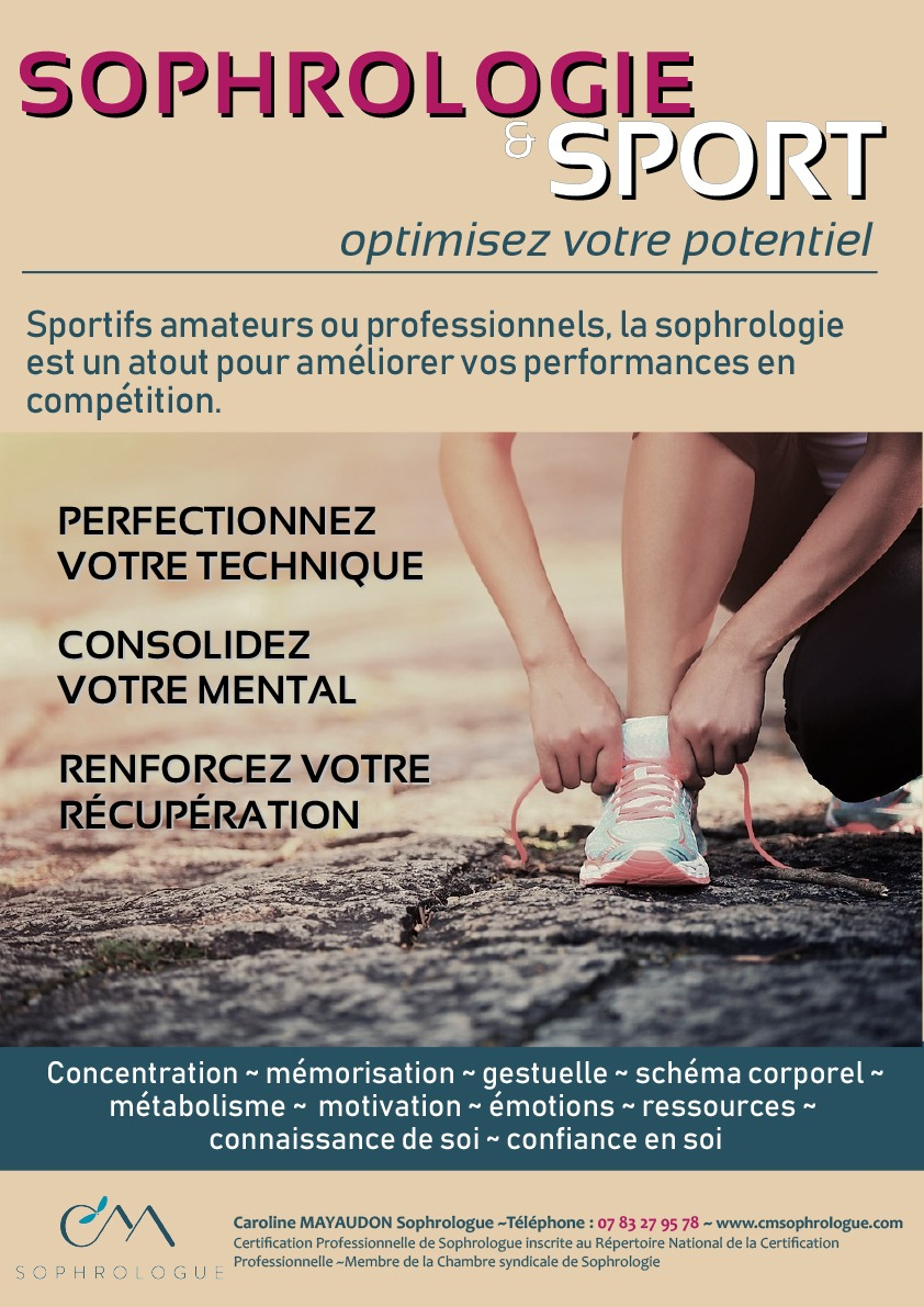 AFFICHE SOPHRO SPORT